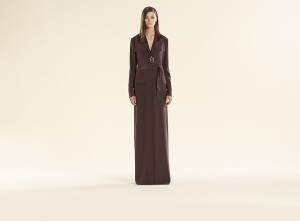 Gucci draped dress