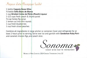 Sonoma in the Heights recipe