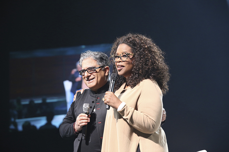 Oprah and Deepak Chopra