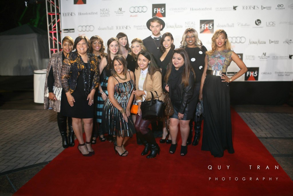 Houston Fashion Bloggers Group photo