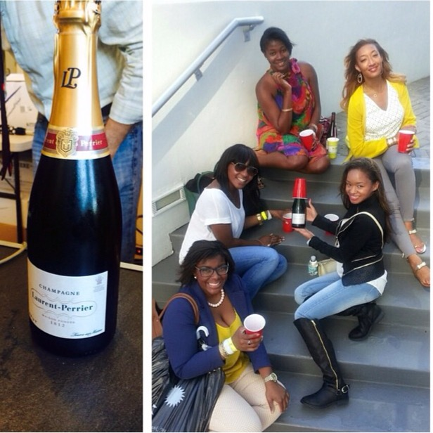 New Friends and Old Champagne at Life You Want Weekend