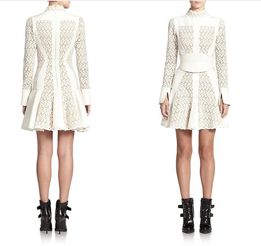 Alexander McQueen Broderie Dress 1
