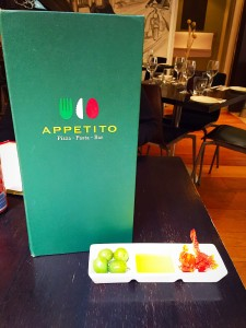 Appetito Table Starters