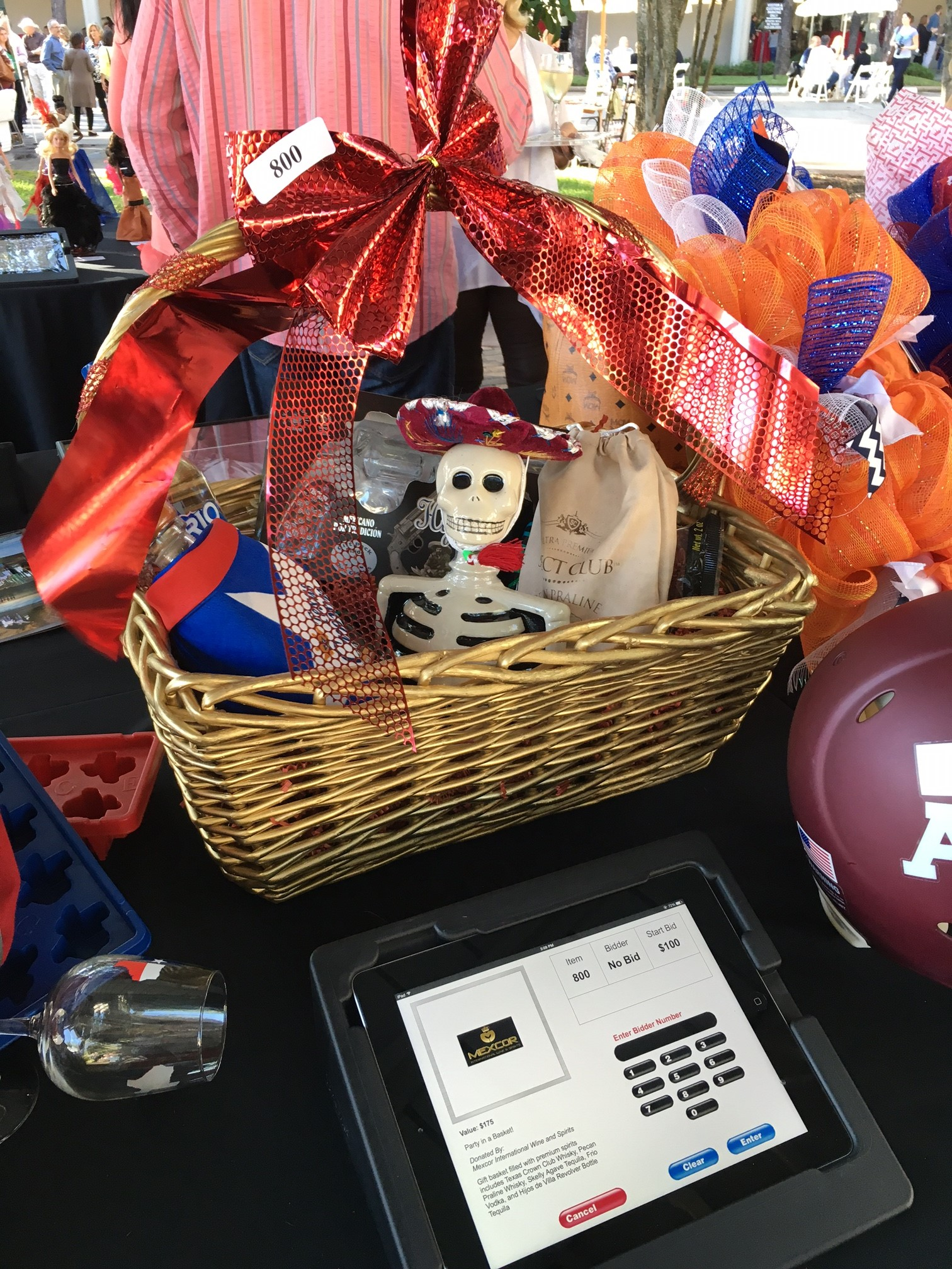 Silent Auction Tequlia Basket
