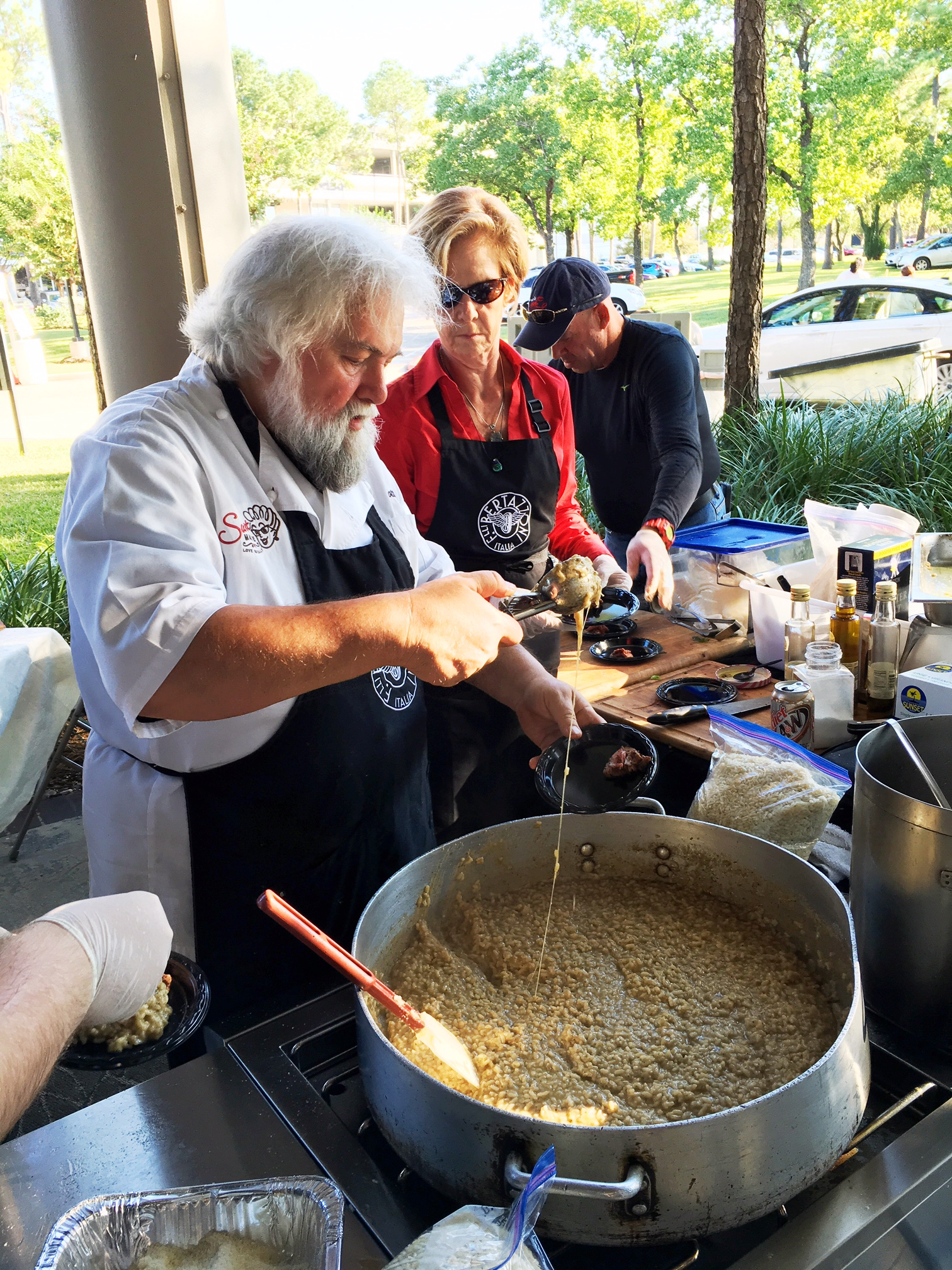 My favorite risotto at the International Risotto Festival