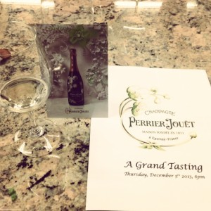 Perrier Jouet tasting at Spec's Warehouse