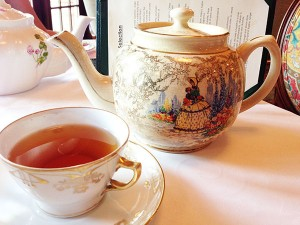 Himalayan Peak Parjeeling Tea at the Afternoon tea at Hotel Granduca