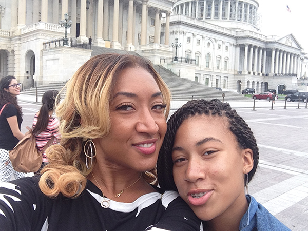US Capital Selfie