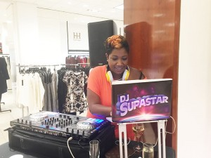 New line launch party with Kilian and Saks with music provided by DJ Supastar