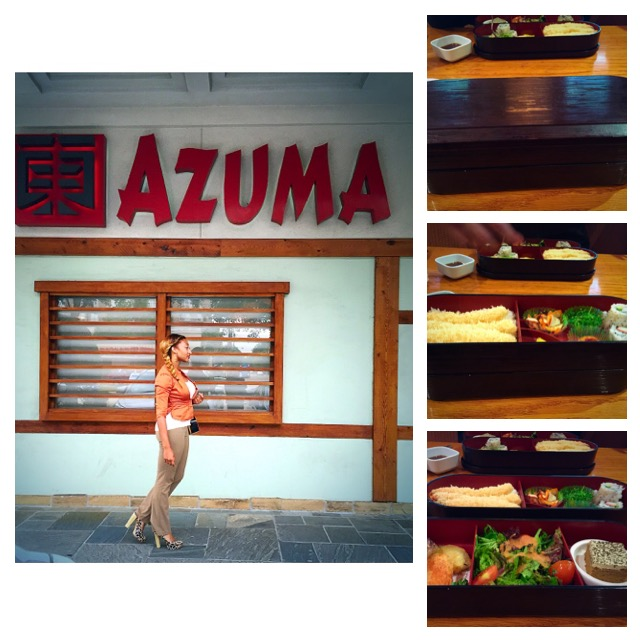 Business lunch at Azuma