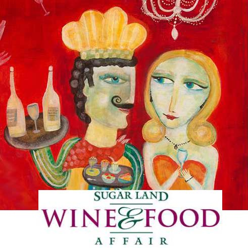 Sugarland Wine and Food affair logo