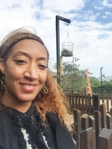 Taronga Zoo me and my new friend the giraffe
