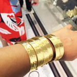 Natori trunk show cuff up close
